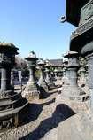 上野東照宮の銅灯籠