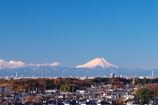 Mt. Fuji from Kashiwa city on December 9