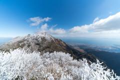 平成新山と霧氷