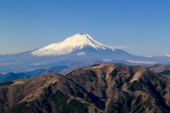 Mt.Fuji from the Oyama