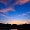 夕焼け雲模様