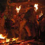 PENTAX PENTAX Qで撮影した(鞍馬火祭)の写真(画像)