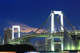都会の大橋