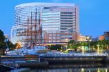 The daybreak of the town of Yokohama