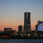 CANON Canon EOS 7Dで撮影した風景(横浜の夕焼け)の写真(画像)