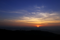 The daybreak of Tanegashima.