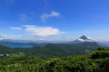 Satsuma Fuji and Lake Tokitsu