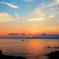 The setting sun of Tanegashima.