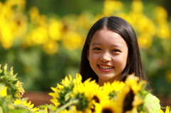 The  smile and sunflower !