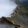 断崖の稜線