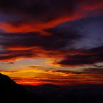 PENTAX PENTAX K-5で撮影した風景(九千尺の夜明け)の写真(画像)