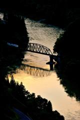第四橋梁夕景