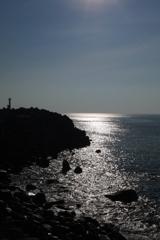 A seaside scenery.