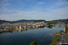 犬山城天守閣からの眺望