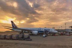 広島空港1月16日