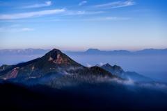 志賀高原の朝Ⅱ
