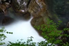 深壑の渓水
