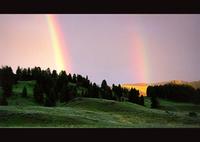 NIKON PRONEA 600iで撮影した風景(Somewhere Over the Rainbow ;Scene 1)の写真(画像)