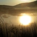 NIKON NIKON D700で撮影した風景(朝暉の湿原(ちょうきのしつげん))の写真(画像)