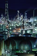 東燃ゼネラル石油和歌山工場vol 1 (マクロで工場夜景)