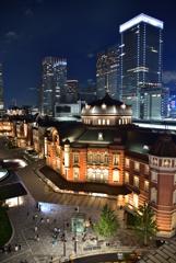 七夕の東京駅