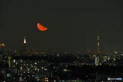 神無月下弦の月の出②