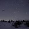雪原を渡ってゆく星々