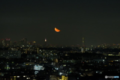 神無月下弦の月の出③