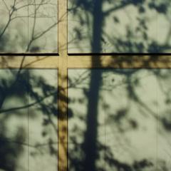 構成-144/十字架と不穏な木陰