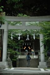 御霊神社前