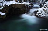伏伸の滝2016冬