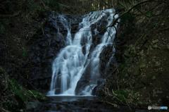 銅屋不動の滝・上段Ⅱ