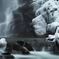 冬の滝場Ⅰ