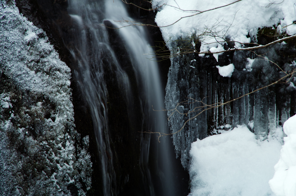 金山滝・冬 Ⅱ