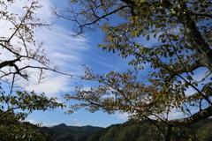 香落渓 紅葉はまだまだ