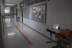 閉校 廊下