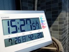 ただいま42.1℃