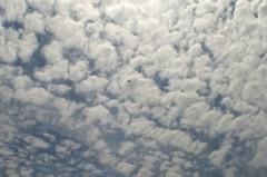 雲海を飛ぶ