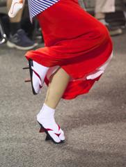 2016阿波踊り その足