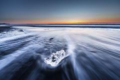 Crystal on the sea