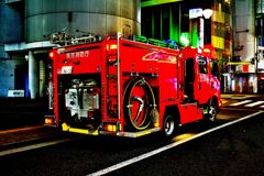 働く車(消防車)3