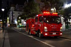 働く車(消防車)1