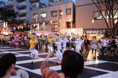 大阪で阿波踊り