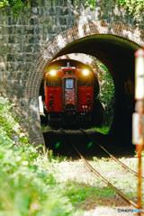 芸備線-三連トンネル