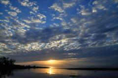 琵琶湖夕景_4