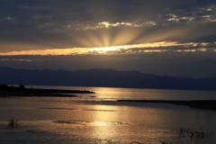 琵琶湖夕景_3