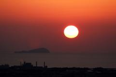 『松山城~夕景』