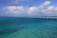 下地島飛行場の桟橋