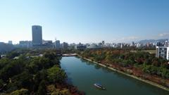 広島城からの光景