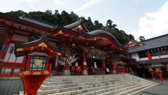 朱 太鼓谷 稲成神社
